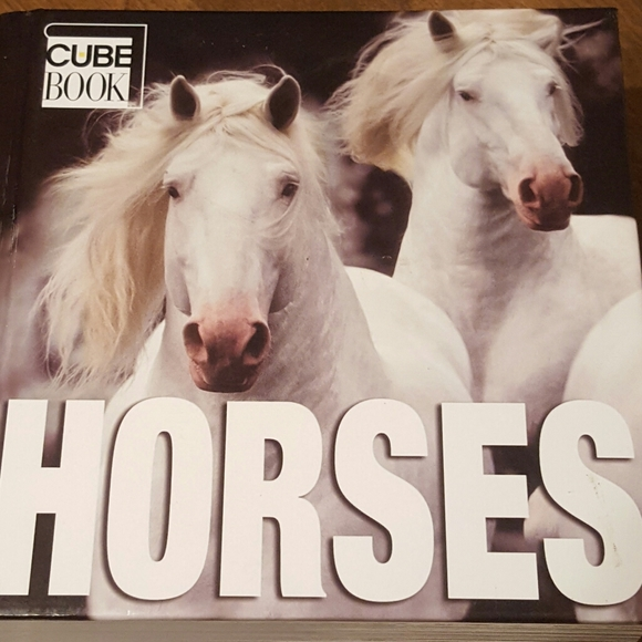 HORSES CUBE BOOK EXCELLENT CONDITION